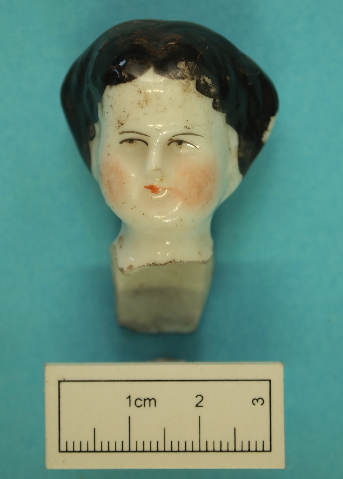 Doll's head recovered from the Wesley Church precinct